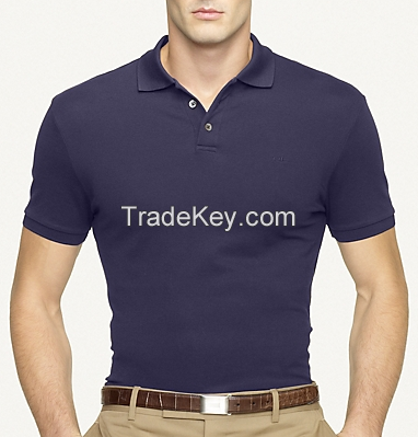 100% double mercerized cotton, 100% performance polyester, cotton+polyester blended, etc.