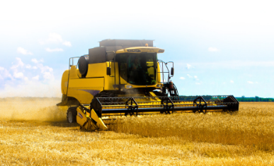 Harvester tires