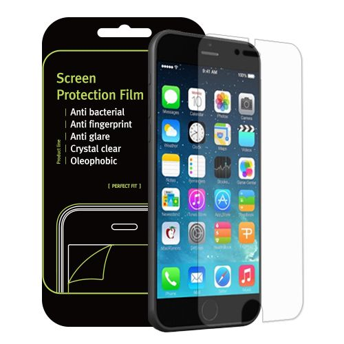 99.9% Antimicrobial Crystal Clear Screen Protector for iPhone 6S / 6
