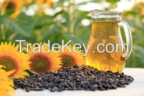CRUDE (non-refined) sunflower oil 1000MT per week