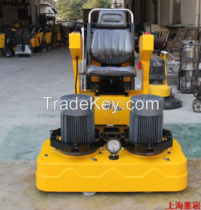 d1200 12heads concrete floor finishing floor grinder and polisher machine