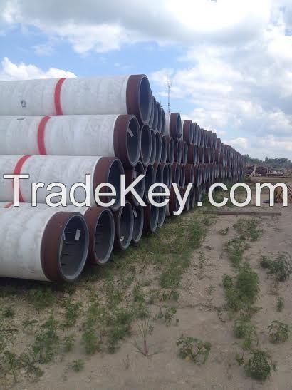 Line Pipe OD 813 ID 735 WT 39.0 SAWL 450 SFDU