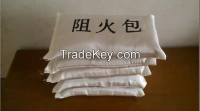 Retardant package/ Fire Pillow insulation