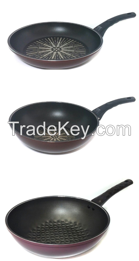Diamond Coated Frying Pan & Wok Pan