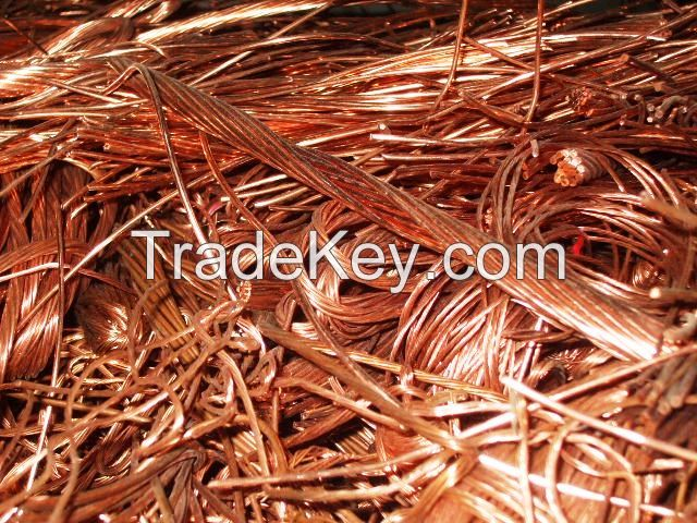 COPPER MILLBERRY SCRAPS /COPPER INGOTS/ALUMINIUM INGOTS AND MANY OTHER SCRAPS