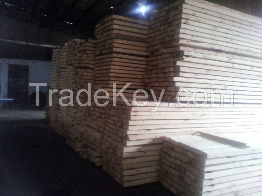 Lumber (pinus sylvestris) Natural moisture & dry