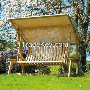 Alexander Rose Roble Garden Swing Seat With Canopy From Posh Garden  Furniture. Alexander Rose Roble