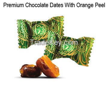 Premium Dates with Orange Peel