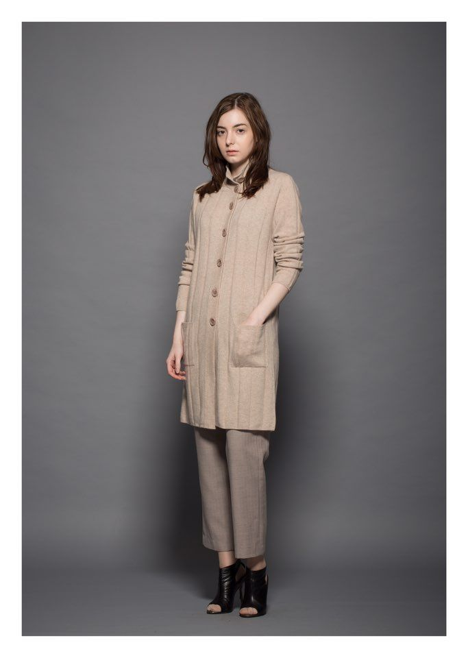 Women cashmere coats