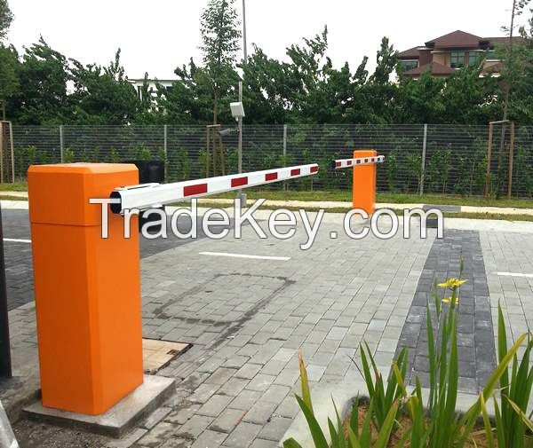 Automatic vehicle access control toll barrier gate for car