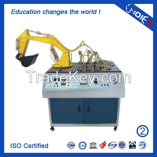 PLC Controlled Transparent Hydraulic Excavator Training Equipment ...