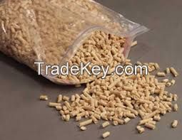 100% pure wood pellets