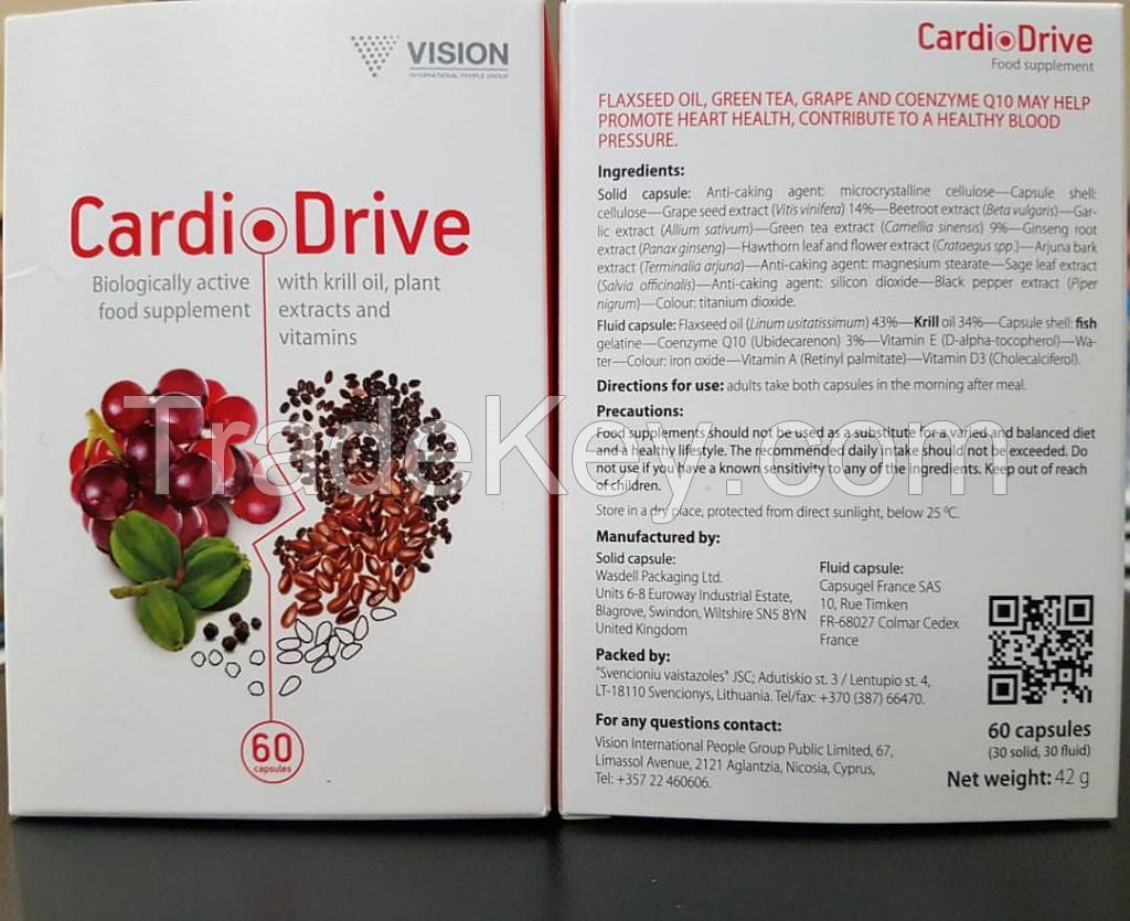 CardioDrive - Prevention of cardiovascular disease