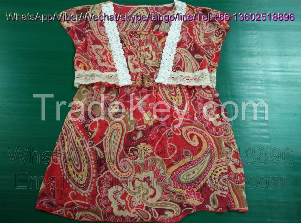 Recycling Uk Style Used Clothing Cream Wholesale Second Hand Clothes Hot Sale