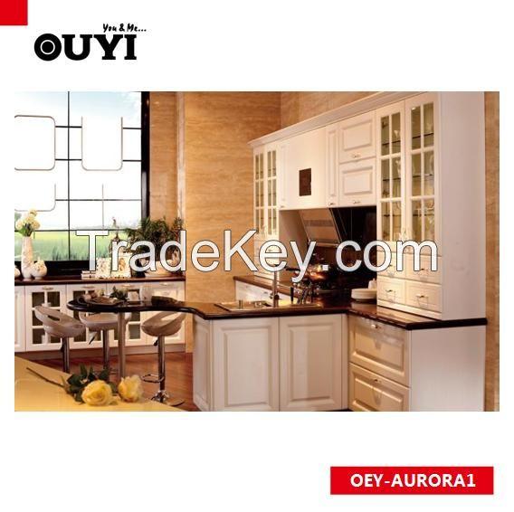 Kitchen furniture kitchen cabinet by ou yi china for Kitchen units in zambia