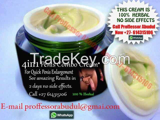 penis enlargement cream results