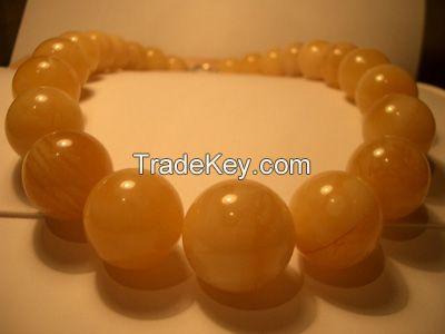 Amber beads