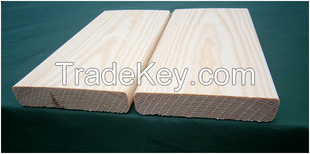 Board edged planned spruce/pine