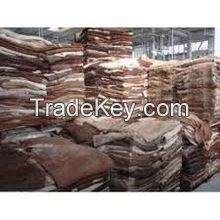 Genuine Leather Dry And Wet Salted Donkey/Goat Skin /Wet Salted Cow Hides