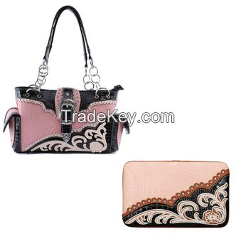 Pink Camo Handbags - Camo Western