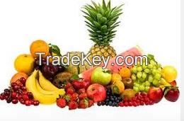 Fresh Fruits, Apples, Pears, Bananas, Mangos, Grapes, Melons, Peaches, Oranges
