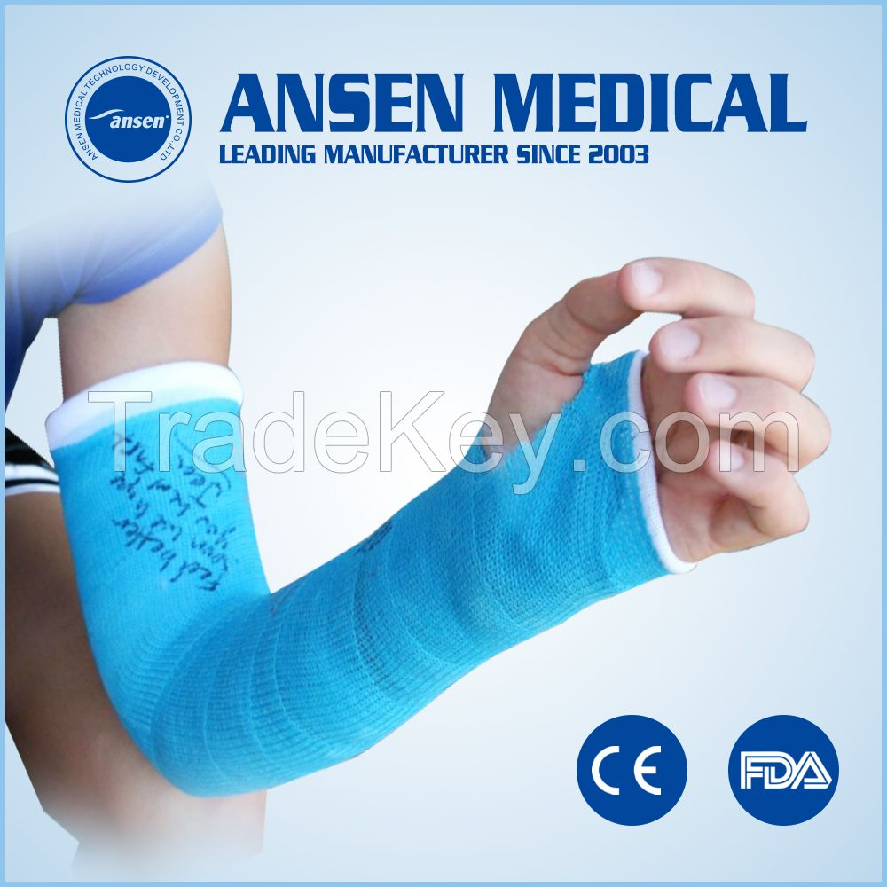 Colored cast - Ce Certificated Medical Fracture Bandage Cast Orthopedic Fiberglass Fabric Casting Tape