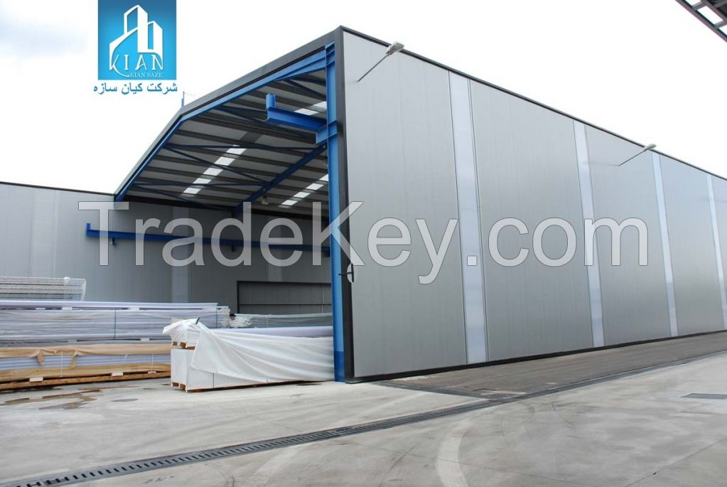 Sandwich Panels Types : Sandwich panel for roof and wall clean room by
