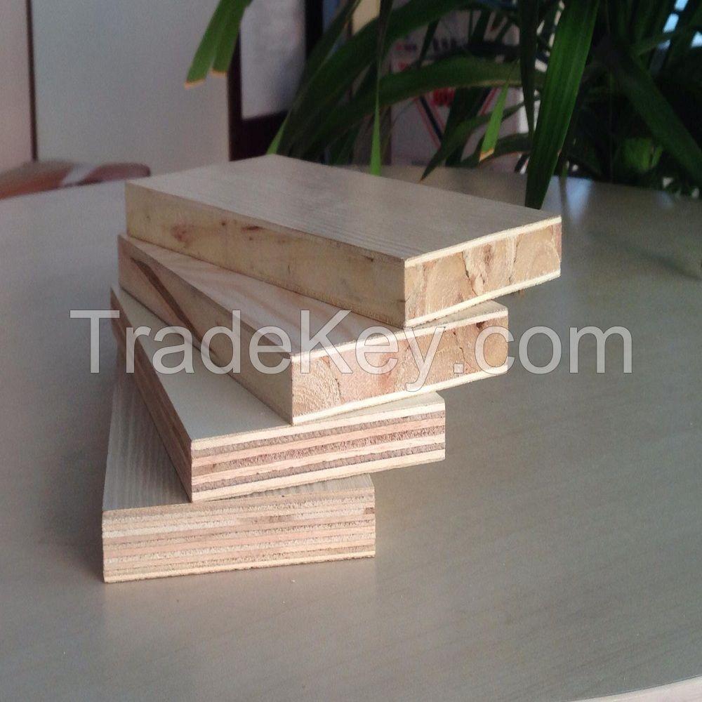Poplar core wood veneer block board by shouguang roc