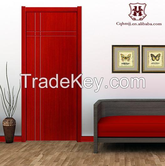 Cheap chinese style pvc door interior by chongqing honmax for Cheap pvc door