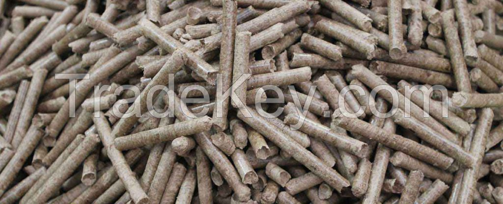 Wood Pellets and Harwood Charcoal