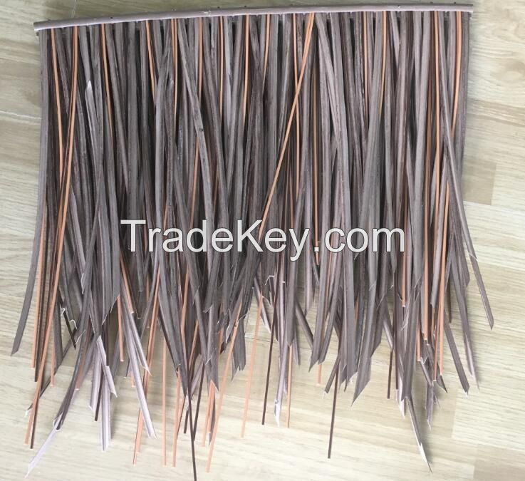Fire Resistant Roof Tile : Class fire retardant synthetic thatch roof tile by xiamen