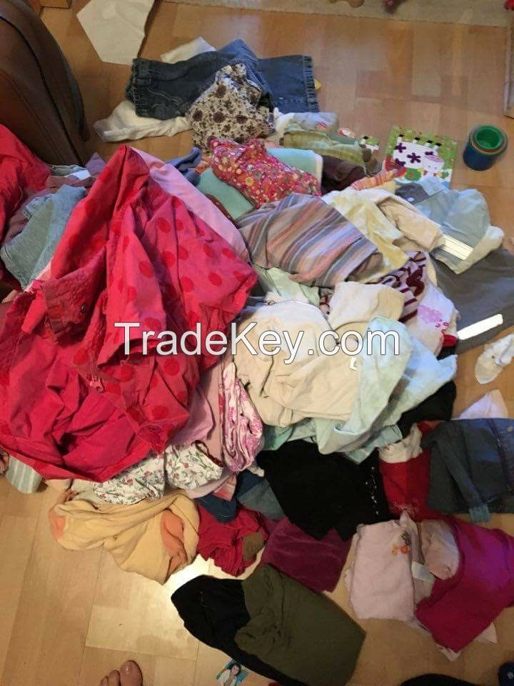 Used clothes from Paris France