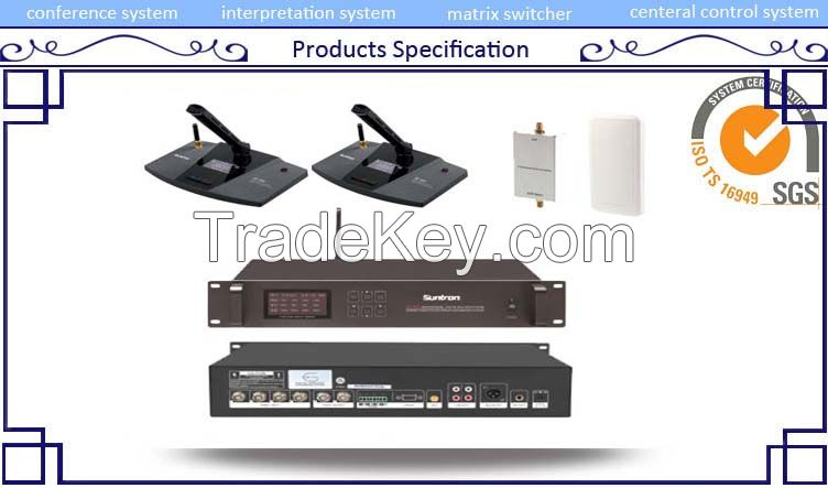 ACS2400G 2.4G Video Tracking Wireless Conference System