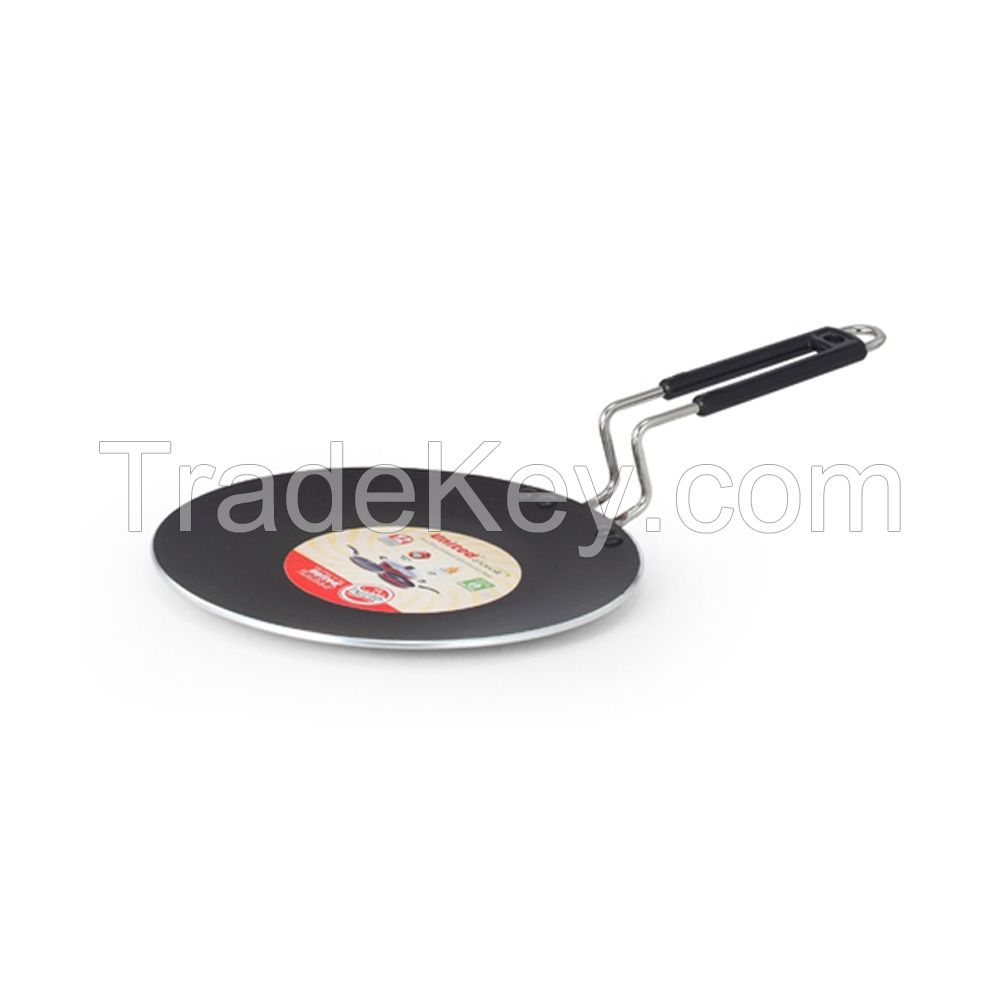 United Ucook Non-Stick Concave Tawa with Induction Base- 25 cm