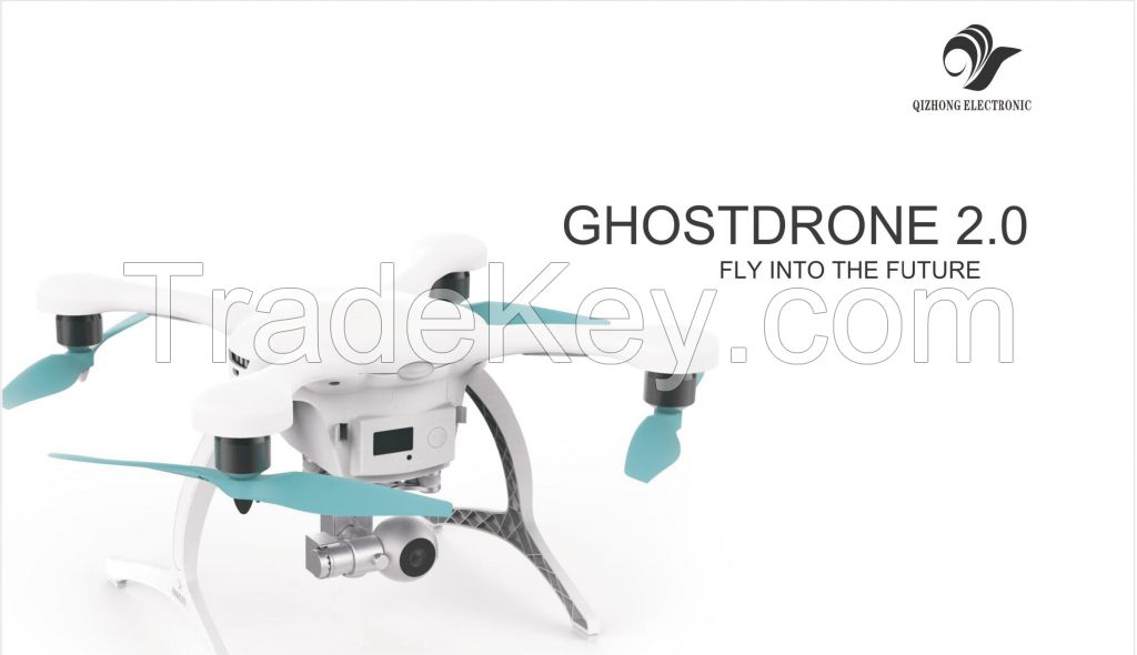 Ehang ghostdrone 2.0 video drone with camera quadcopter fpv remote control aerial rc hobby toy flight flying uav