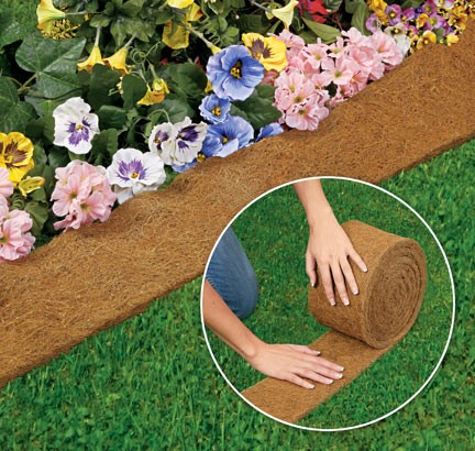 coco fiber edge border/edging mat/garden edge/coco edging