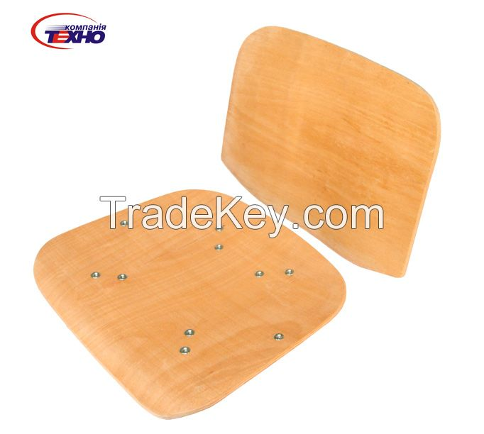 Bent Wood, Curved plywood, molded plywood for chairs and seats