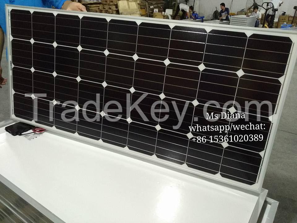 150w mono solar pv panels
