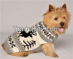 REINDEER SHAWL SWEATER FOR LUXURY DOG