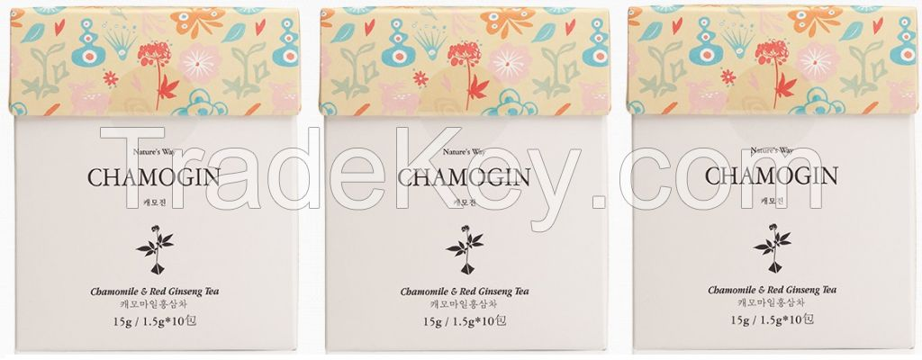 CHAMOGIN TEA (Chamomile and Red Ginseng tea)