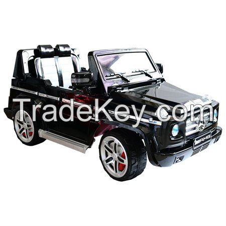 Mercedes benz g55 kids 12v electric ride on toy truck by for Mercedes benz truck toys