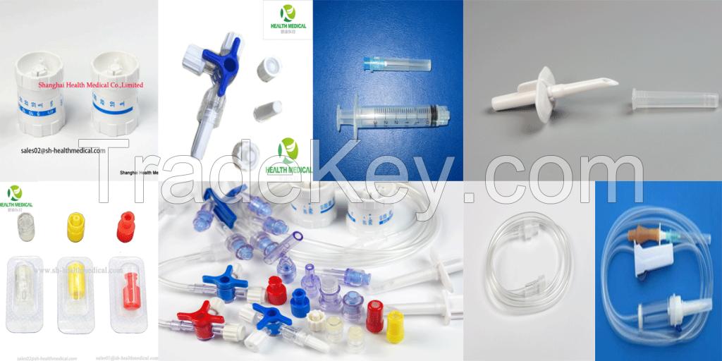 Manufacturer : Heparin Caps, 3 Way Stopcocks, Puncture Needle,Needle free Connector,Luer Caps, Combi stoppers, Micro-flow regulators, SYRINGE, NEEDLES etc.