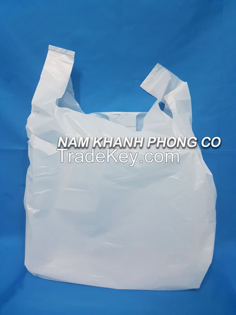 Wholesale T Shirt Plastic Bag For Shopping Packaging