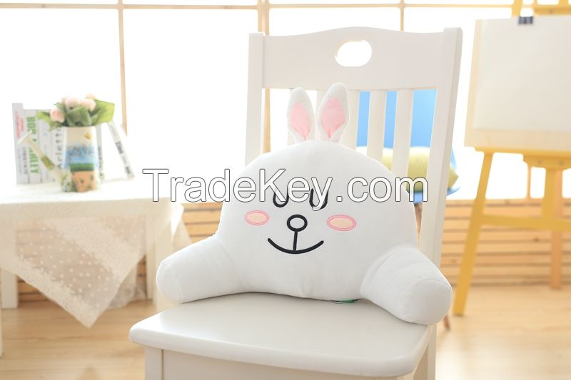 Cute plush toys plush cushion