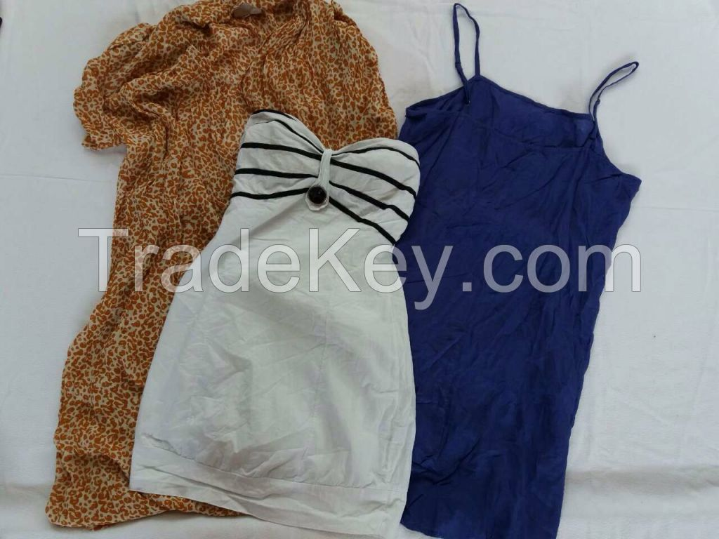 Summer Used clothing Grade A for SALE