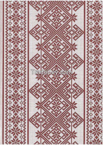 Wallpaper and non-woven wallpaper