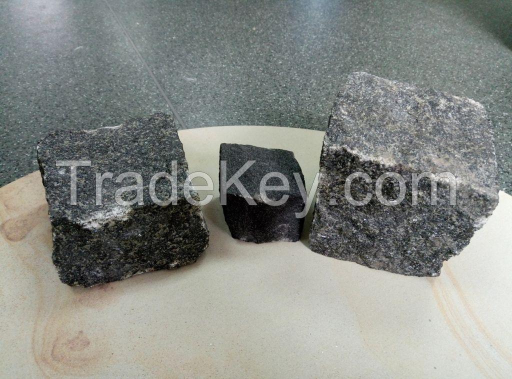 Black Granite Cube Stone & Pavers Black Granite Gabbro