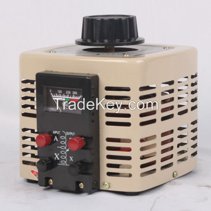TDGC2 Single Phase Series AC Variac, transformer, freeze variac