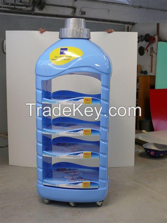 Display POS bottle rack
