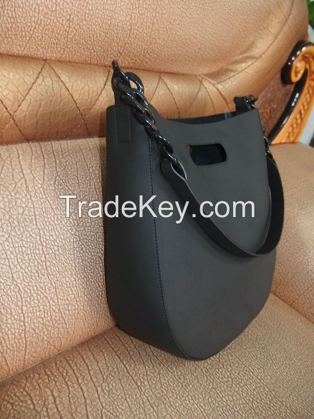 Genuine leather bag handbag leather hand bag